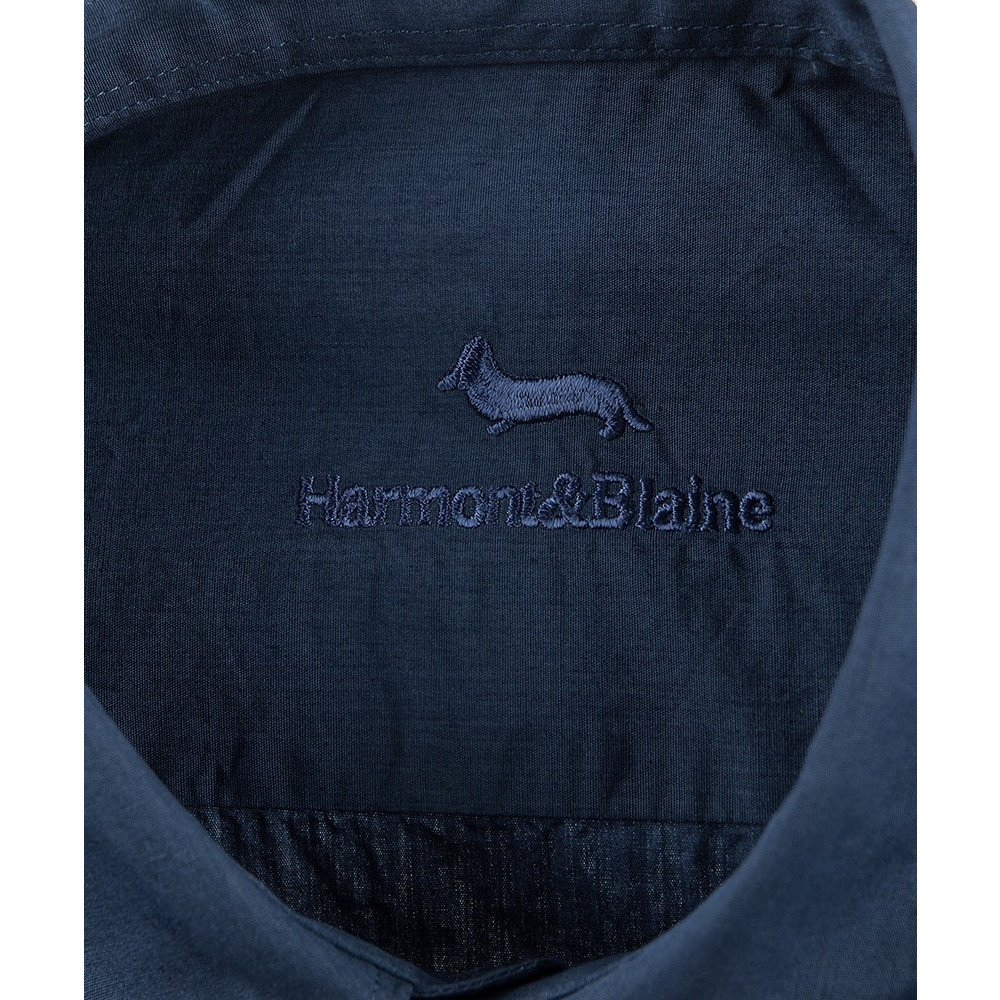 fb1023a59 Harmont & Blaine Mens Shirt In Dark Blue