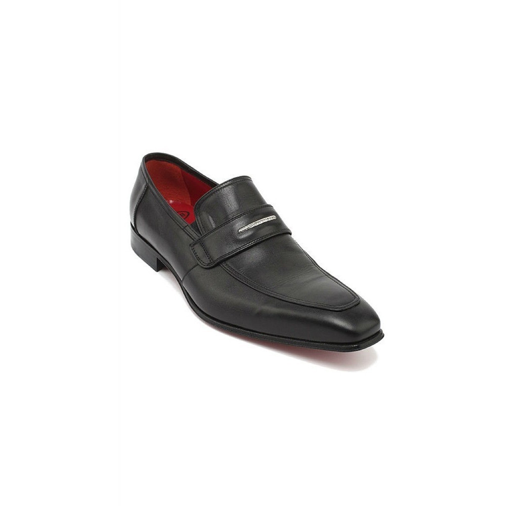ce3e7fa594b1 Roberto Botticelli Mens Leather Shoes In Black