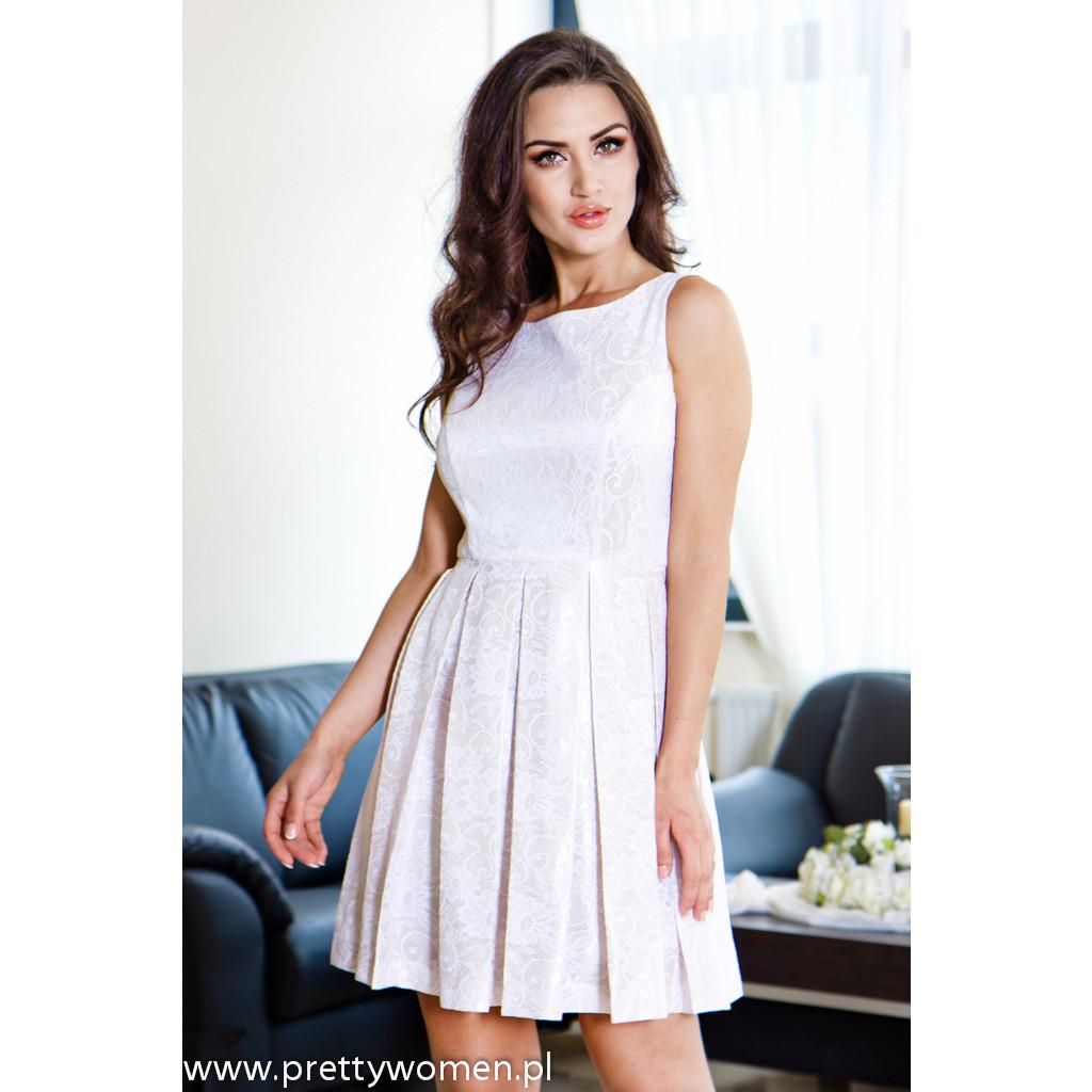 918ecb9612 sukienka-dzienna-te-amo-zakard-creme-pretty-women- Display Gallery Item 1
