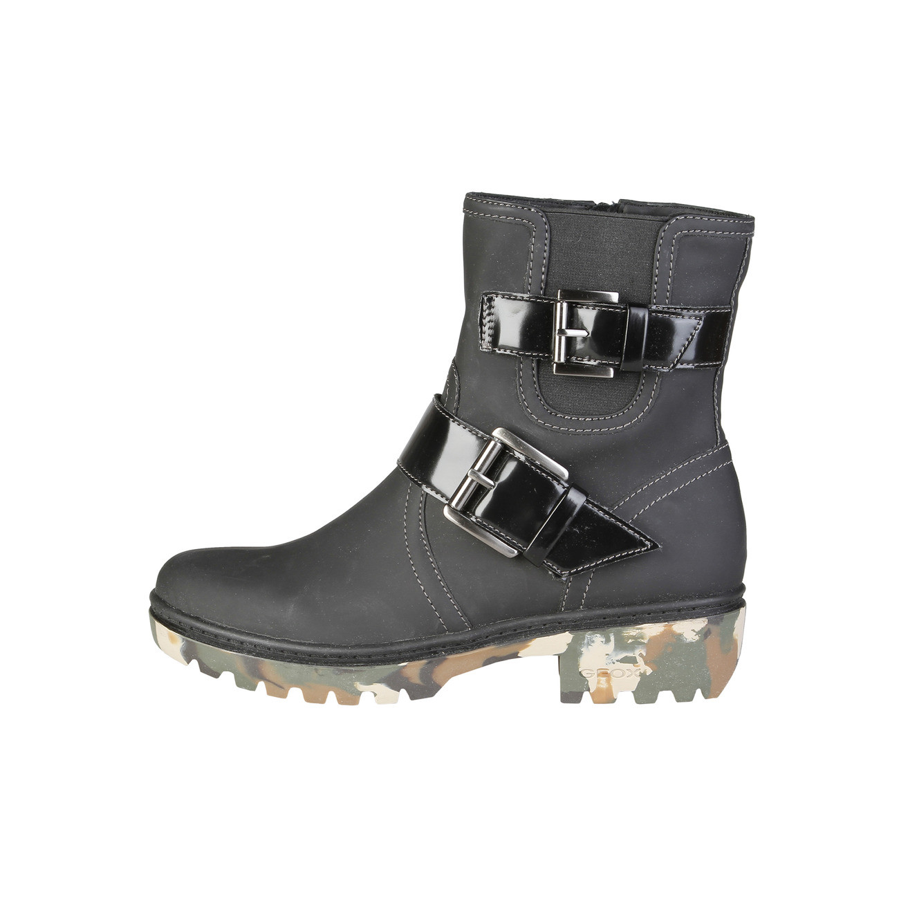 Ladies Ankle Boots Geox D34G6E_000GY In Black