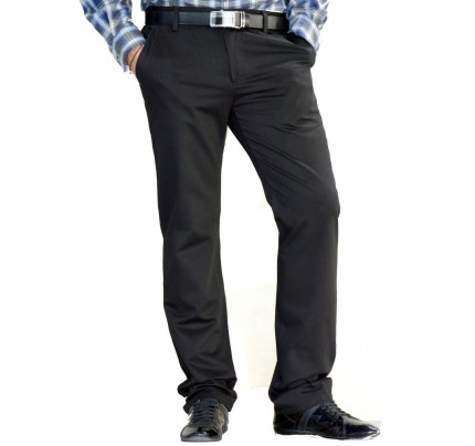 Styler Mens Elegant Trousers In Black 57bbaee871