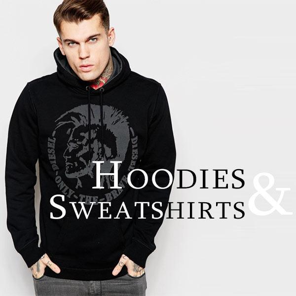 Hoodies and Sweatshirts Men