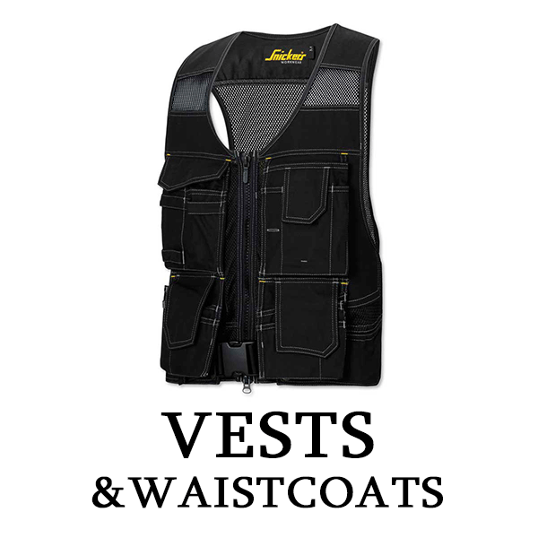 Vests and Waistcoats Workwear