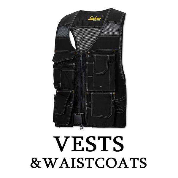 Vests and Waistcoats Workwear